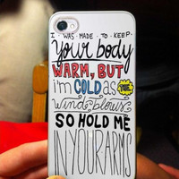 Ed Sheeran Lyric Quote LRI iPhone Case And Samsung Galaxy Case