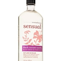 Body Wash & Foam Bath Black Currant Vanilla