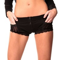 FOXERS -  Black Boxer Brief