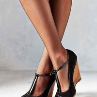 Madison Harding Emma T-Strap Wedge-