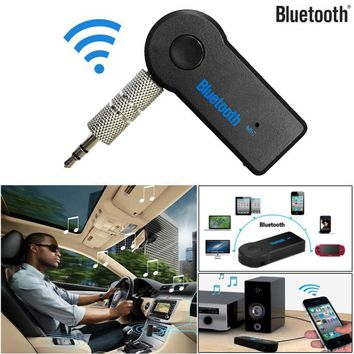 Car Electronics car charger tracker Wireless Bluetooth 3.5mm AUX Audio Stereo Music Reversible Strip DC Electronic Z1127