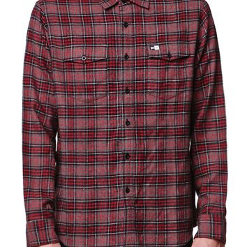 RVCA YGVA Flannel Shirt - Mens Shirts - Black