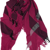 Burberry Accessories | Checked merino wool scarf | NET-A-PORTER.COM