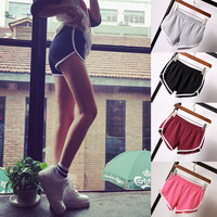 HOT New Summer Women Ladies Sexy Fitness Slim  Shorts 2016 Fashion Casual Cotton   Workout short femme Cheap Z3