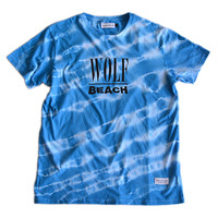 Wolfbeach T-Shirt - Blue