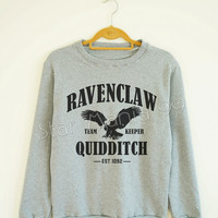 Ravenclaw Quidditch Shirt Ravenclaw Shirt Harry Potter Shirt Sweater Sweatshirt Jumpers Tee Long Sleeve Women Shirt Unisex Shirt SizeS,M,L