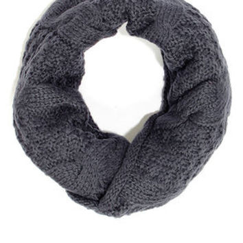 Call a Cable Grey Infinity Scarf