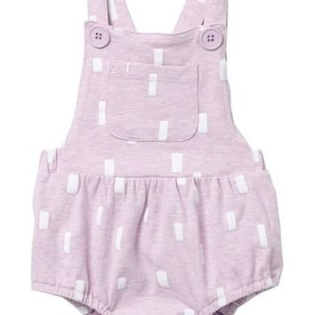 FOCUS | Jersey Sunsuit (Baby Girls) | Nordstrom Rack