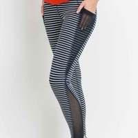 Mono B Mesh Pocket Leggings