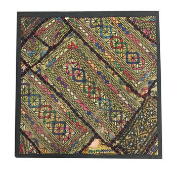 Exotic Vintage Sari Wall Hanging Patchwork Tapestry Decor India Art