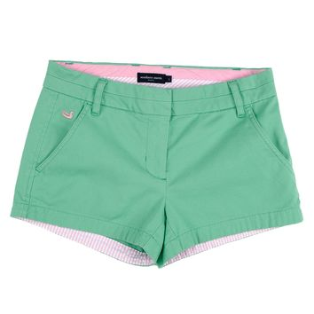 The Brighton Chino Short in Bimini Green by Southern Marsh
