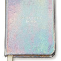 kate spade new york 'pretty little thing' mini notebook - Metallic