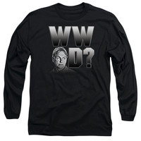 NCIS/WHAT WOULD GIBBS DO - L/S ADULT 18/1 - BLACK -