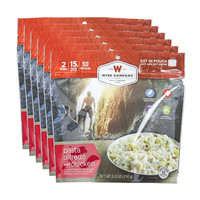 Wise Company Camping Meals - Pasta Alfredo with Chicken (Case of 6 Pouches)