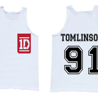 One Direction Louis Tomlinson tank top