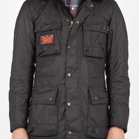 Black Hybrid International Field Surtees Jacket by Barbour