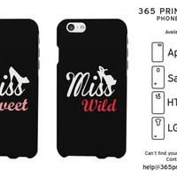 Miss Sweet Wild Best Friend Matching Phone Cases - 365 Printing Inc
