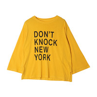 NEW YORK Statement Print T-Shirt | STYLENANDA