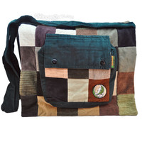 Grateful Dead - Steal Your Face Patchwork Messenger Bag on Sale for $44.99 at HippieShop.com