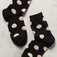 Polka Dot Crew Socks by Hansel from Basel