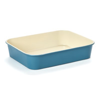 casaWare Blue 10 x 13 Ceramic Roaster Pan | zulily