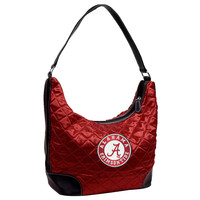 Alabama Crimson Tide NCAA Quilted Hobo (Dark Red)