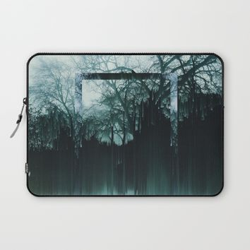 Tree Lines Laptop Sleeve by Ducky B
