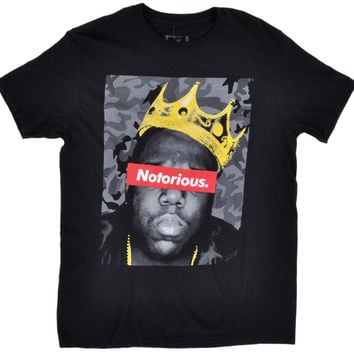Biggie Smalls Notorious king of hip hop adult t-shirt