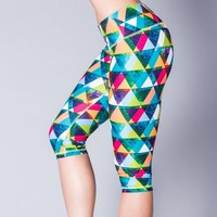 Rumi Yoga Wear Womens Yoga Capri Seek