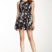 BCBGeneration | BCBGeneration Printed Zip Dress | Nordstrom Rack