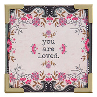 You Are Loved Corner Magnet by Natural Life