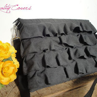 Laptop bag PADDED laptop case  can be any size by QUALITYcovers