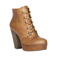 Steve Madden - RASPY COGNAC LEATHER