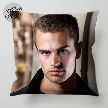 Theo James Four Divergent Pillow Case