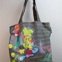Andy Warhol Tote Bag - Gray