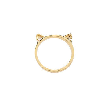 kate spade new york Out Of The Bag Cat Ears Ring | Dillards