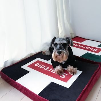 Supreme Mat Pets Winter Suede Dog's Sofa [429892567076]