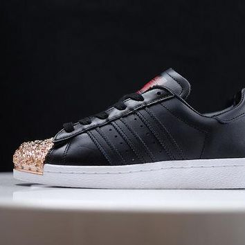 Adidas Superstar 80s Metal Toe Gold/Black