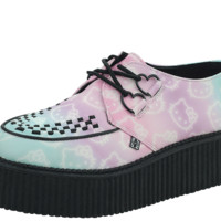 Hello Kitty® Ombre Mondo Sole Creepers - T.U.K. Shoes