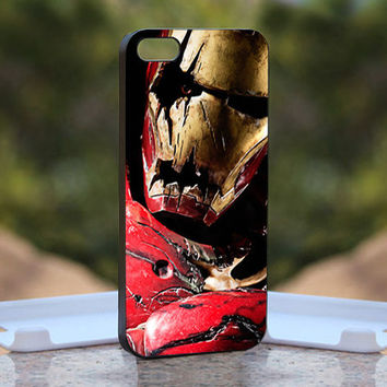 Zombie Iron Man  - Design available for iPhone 4 / 4S and iPhone 5 Case - black, white and clear cases