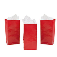 Mini Candy Treat Bags - Red: 24-Piece Bag