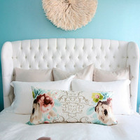 Marcene Tufted Queen Bed
