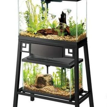"Aqueon Forge Metal Aquarium Stand 24"" x 12"""