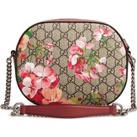 Gucci GG Blooms Supreme Canvas Shoulder Bag | Nordstrom