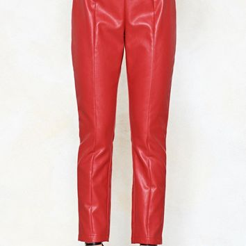 Ride Away Faux Leather Pants