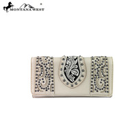 MW307-W002 Montana West Tooled Wallet