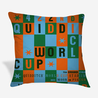 Harry Potter Quidditch World Cup Grand Final Pillow Case