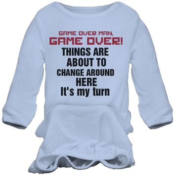 Funny Gamer Infant Gown: Ocdesignzz Youth