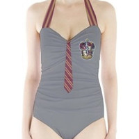 Harry Potter Gryffindor retro style swimsuit Size S