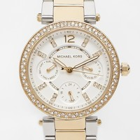 Michael Kors MK6055 Silver Parker Watch